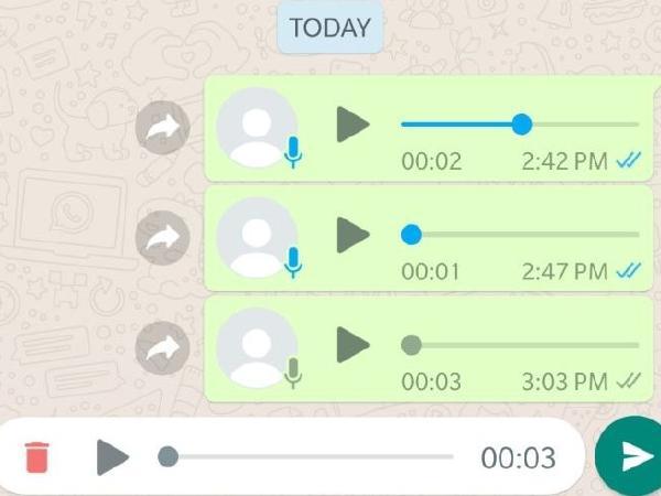 Fitur Audio WhatsApp Mampu Kirim Banyak File