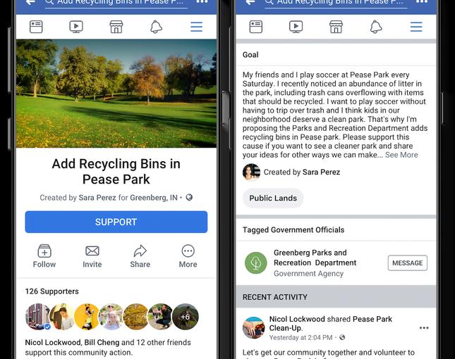 Facebook Sediakan Fitur untuk Penyampaian Petisi