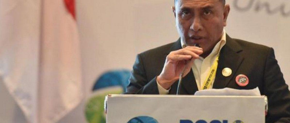 Edy Rahmayadi Mundur dari Ketum PSSI