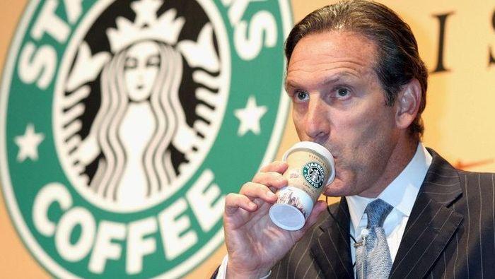 Mantan Bos Starbuck Calonkan Diri di Pilpres Amerika 2020