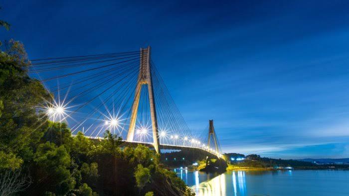 Lebih Menarik Wisatawan, Jembatan I Barelang Dipasang Lampu Hias