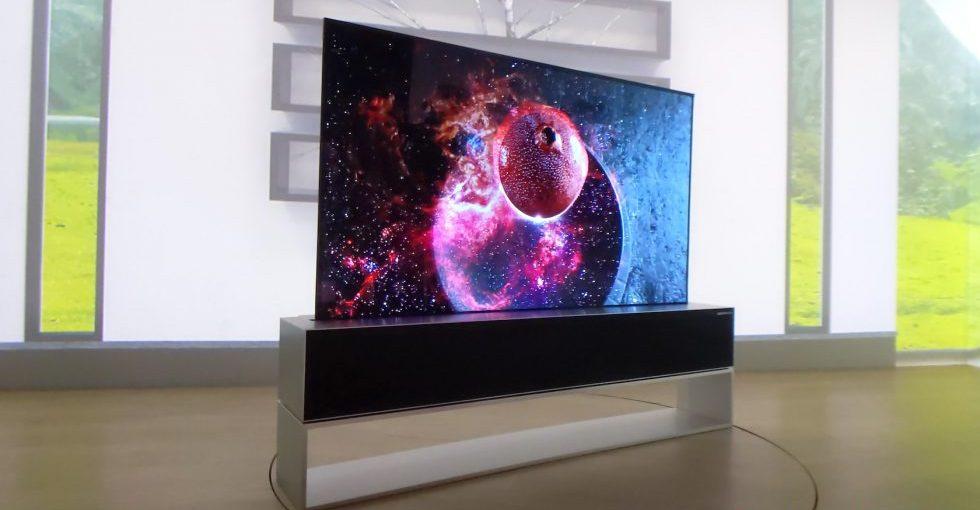 TV Gulung LG Masuk Pasar Tahun Ini
