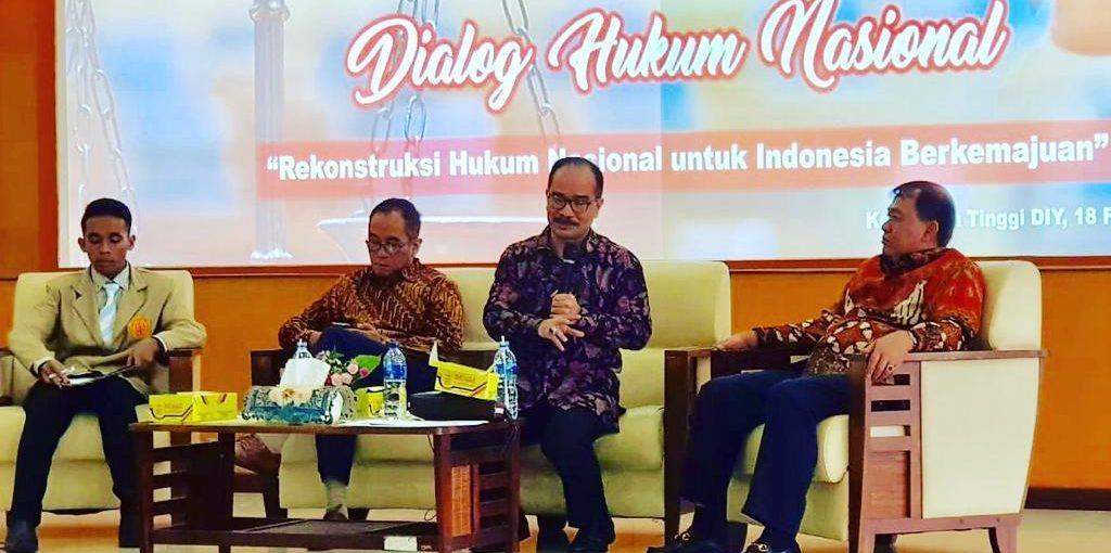 Rekonstruksi Hukum Nasional untuk Indonesia Maju