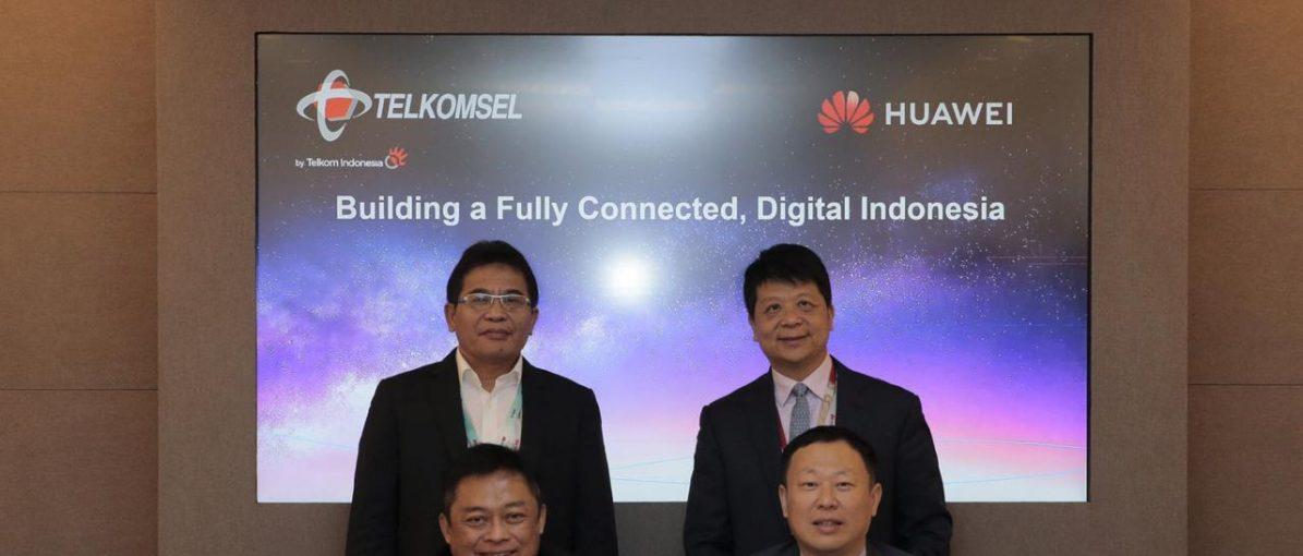 Telkomsel Gandeng Cisco dan Huawei Perkuat Layanan 5G