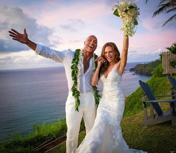 Pacaran 12 Tahun, Akhirnya Bintang Fast furious, The Rock Menikah