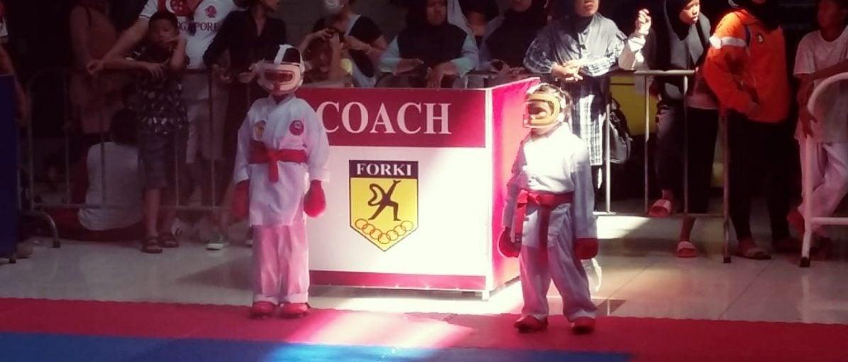 Tim Karate-Do Polsek Batuaji, Raih 9 Medali di Kejuaraan Pengda Forki Tanjungpinang