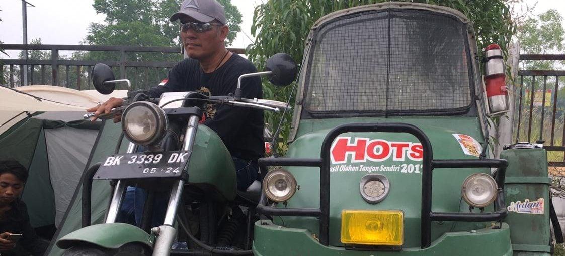 Pertemuan Lintas Generasi para Scooter se-Sumatra