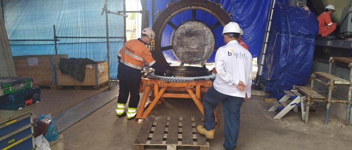 Perbaikan Pembangkit Listrik Gas Turbin PLTGU Selesai Awal Oktober 2019
