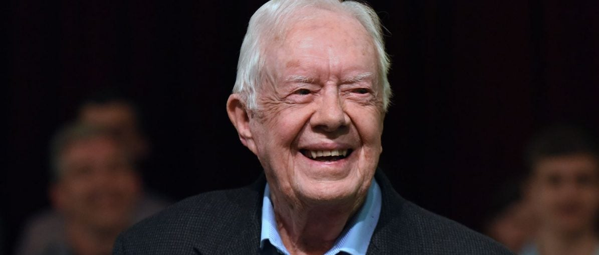 Presiden AS Jimmy Carter Jatuh di Georgia