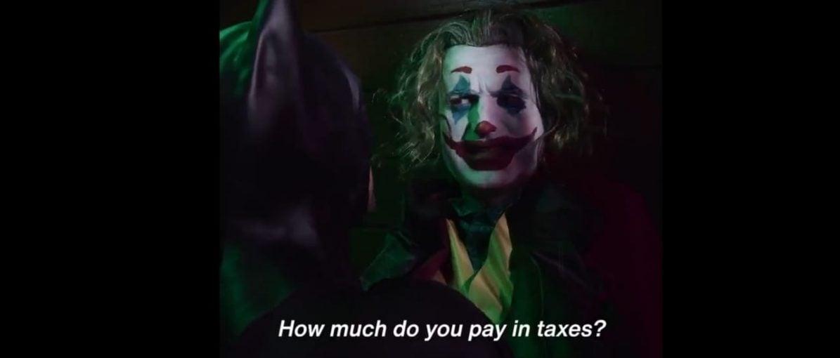 Kampanye Pemilu Inggris Tampilkan Adegan Percakapan Joker-Batman