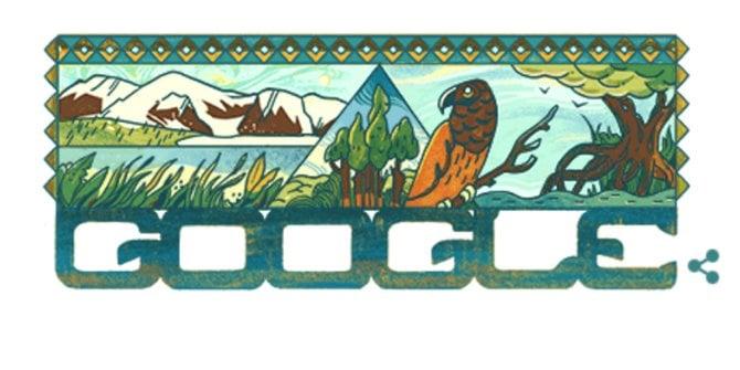 Taman Nasional Lorentz Papua Jadi Google Doodle