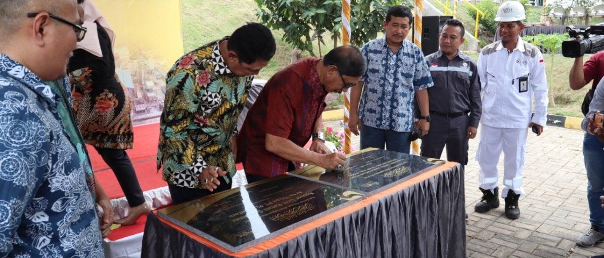 Bright PLN Tambah Infrastruktur Ketenagalistrikan di Tanjunguncang