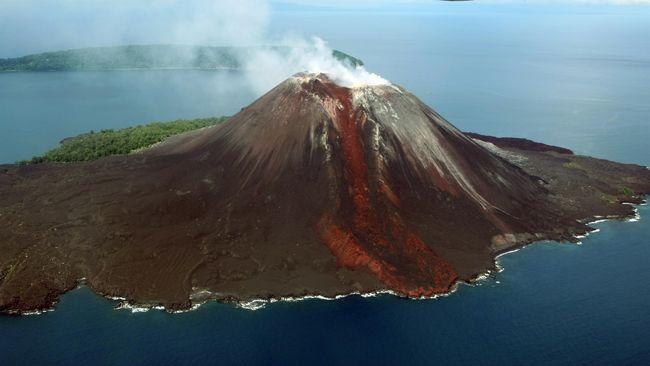 Warganet Ramai Bicarakan Dentuman dan Dajjal karena Letusan Krakatau