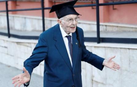Giuseppe Paterno, Veteran yang Baru Sarjana Pada Umur 96 Tahun