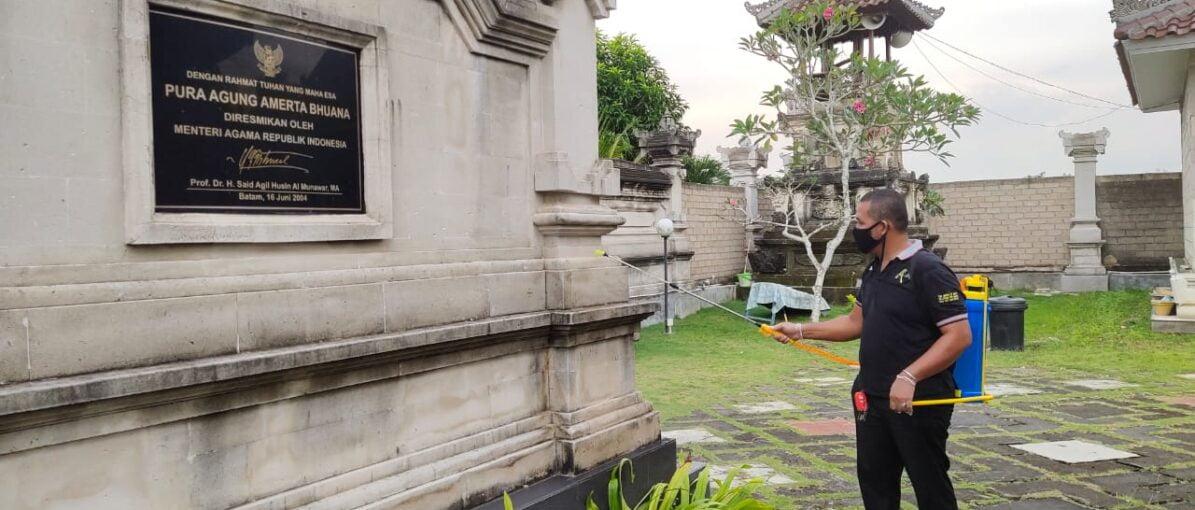 Toyota Fortuner Club Kepri Lakukan Sterilisasi Covid-19 di 100 Rumah Ibadah