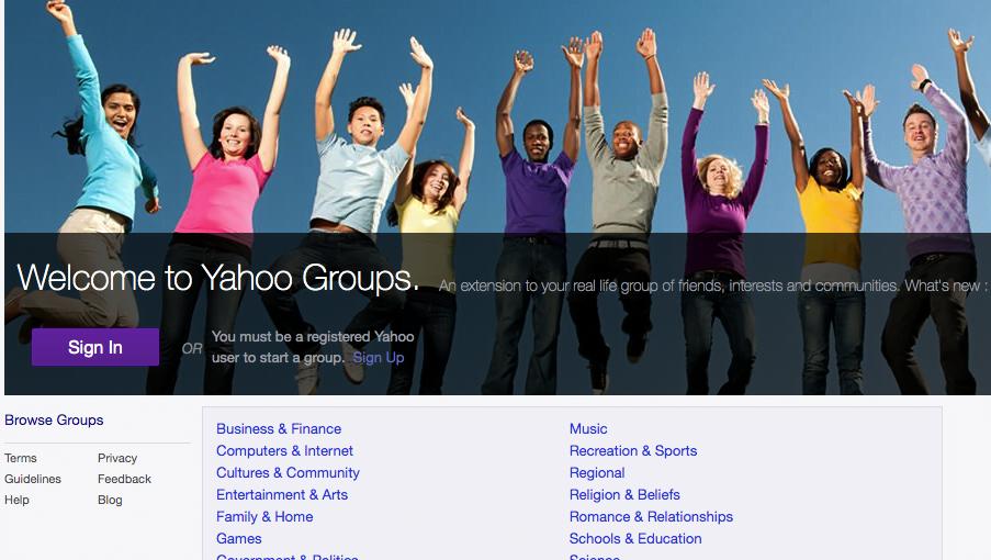 Selamat Tinggal Yahoo Groups!