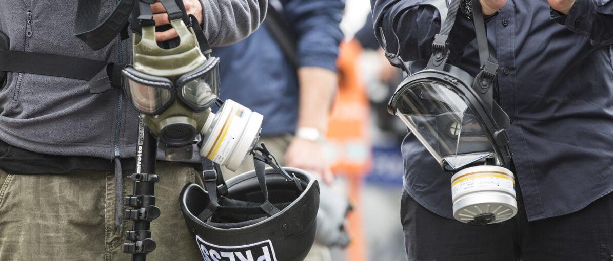 56 Jurnalis Alami Kekerasan Saat Meliput Demonstrasi UU Cipta Kerja
