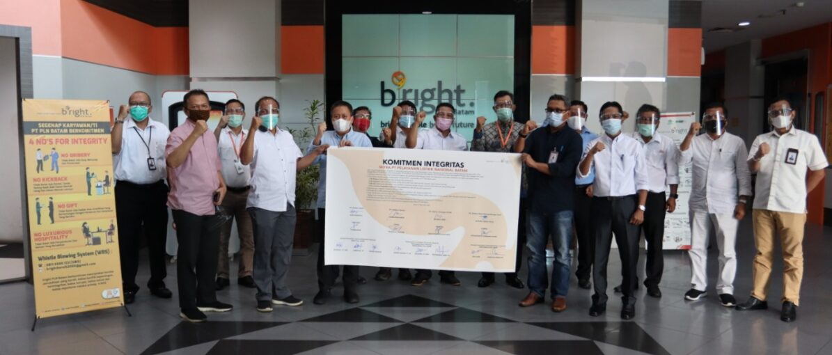 Bright PLN Batam Ajak Tandatangani Komitmen Integritas