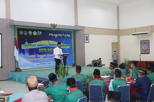 Pesan Wali Kota Batam untuk Para Remaja Masjid