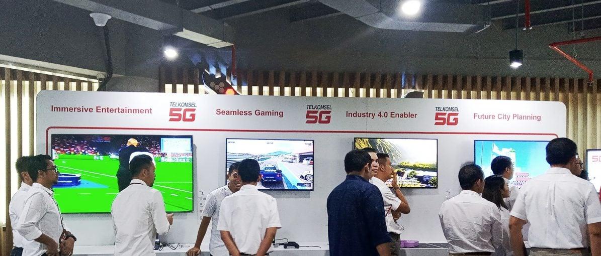 Telkomsel Uji Coba Jaringan 5G di Batam