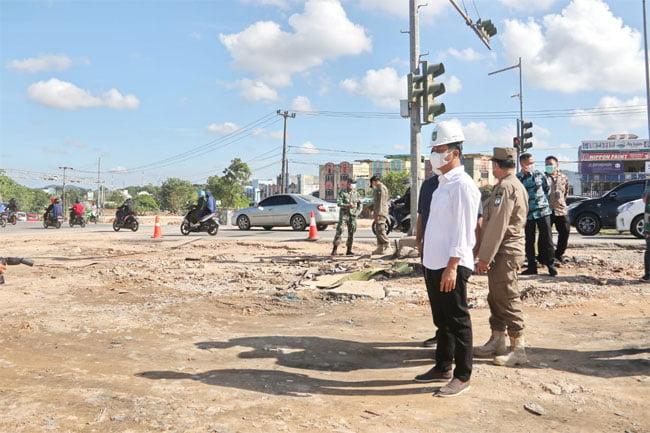 Simpang Basecamp dan Tembesi akan Dibangun Bundaran