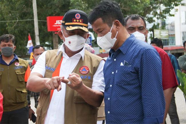 Kepala BNPB Apresiasi Pemko Batam Dalam Penanggulangan Penyebaran Covid-19