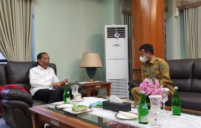 Presiden Jokowi Apresiasi Pembangunan di Batam