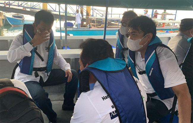 PLN Batam Sambut Baik Uji Coba Motor Tempel Listrik Nelayan